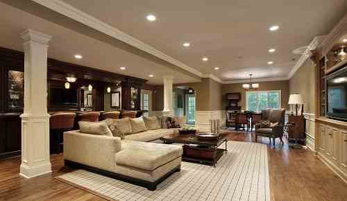Design Basement Style Remodeler In Maryland  Modern Style Construction In Maryland